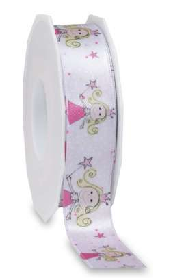 Satinband - Prinzessin 25 mm x 20 m - 1001582520704