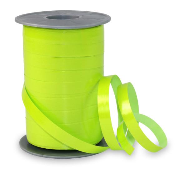 Ringelband hochglänzend neon grün 10 mm x 200 m