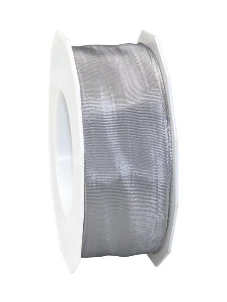 Taftband mit Drahtkante 40 mm x 25 m