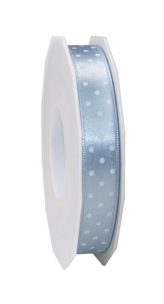 Satinband - Punkte 15 mm x 20 m