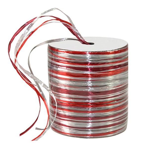Bastband glänzend - mehrfarbig 50 m