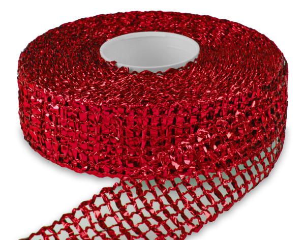 Dekorationsband - Gitter 50 mm x 25 m